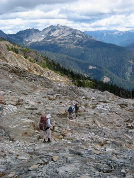 Traversing Moonscape On Skyline Ridge
