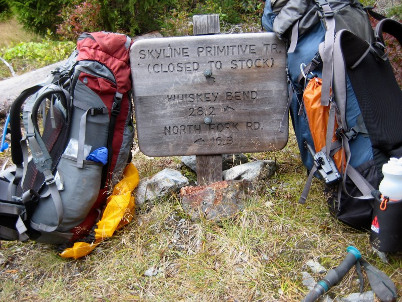 End Of Skyline Trail At Low Divide