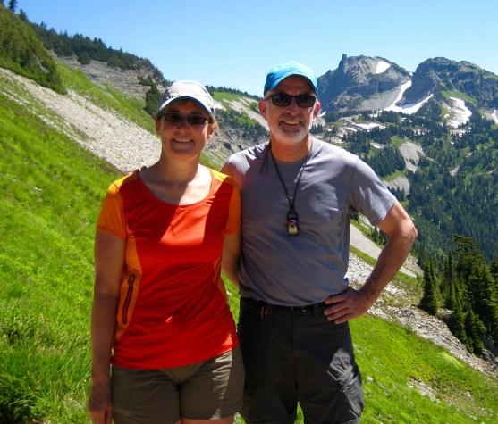 Eileen and Jim At Pinnacle Plummer Saddle