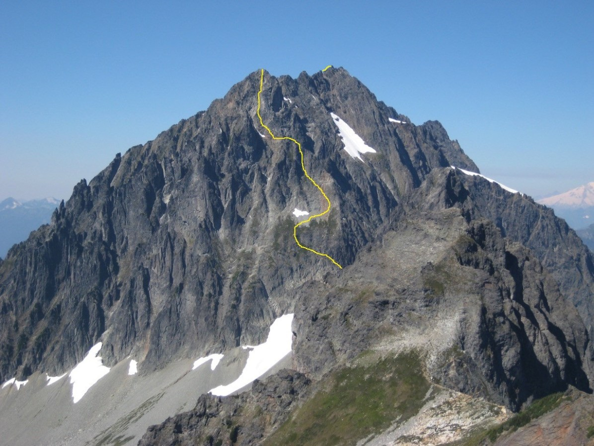 Johannesburg Mountain East Face Route