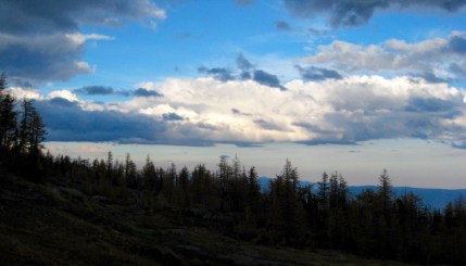 Evening Clouds From High Meadow