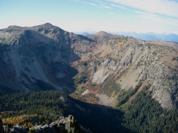 Big McWaukum Peak From Jason Point