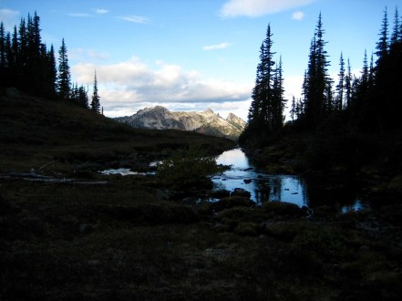 Bulls Tooth From Grace Lakes