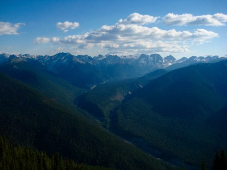 Suiattle Valley From Miners Ridge