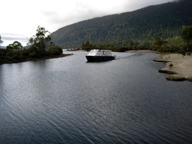 Lake St Clair Ferry In Narcissus Bay