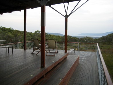 Surveyors Hut Viewing Deck