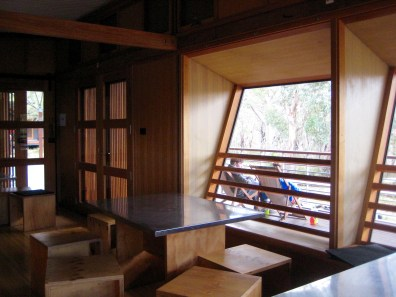 Retakunna Hut Dining Room