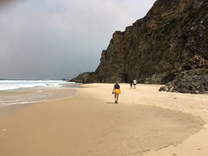 Walking Along Moorina Beach