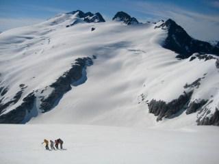 Heading Up Whatcom Peak