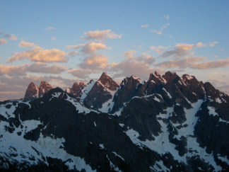 Southern Pickets From Pickell Pass