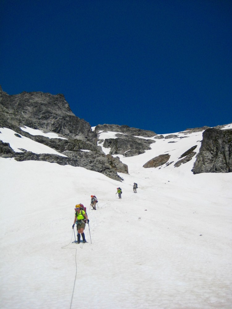 Descending From Pickell Pass