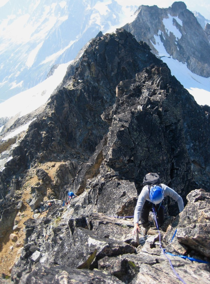 Final Rock Pitch To Summit