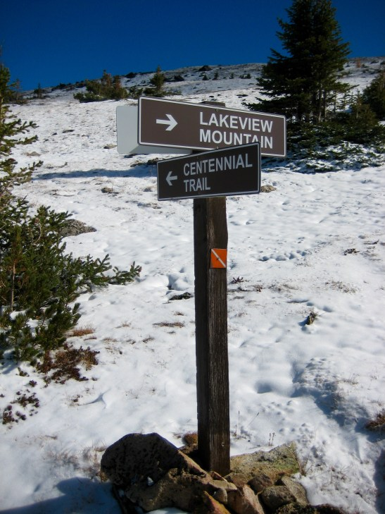 Lakeview Mtn Trail Junction