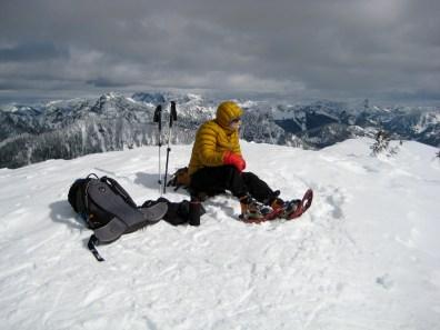 Ira On West Granite Peak Summit
