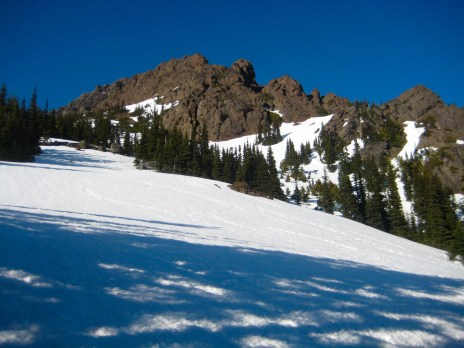 Approaching West Side Of Mt Angeles