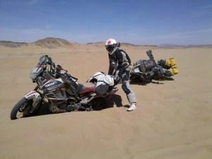 Encallado en Marruecos