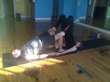 March Partner Yoga