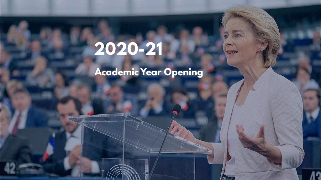 2020-21 Academic Year Opening
