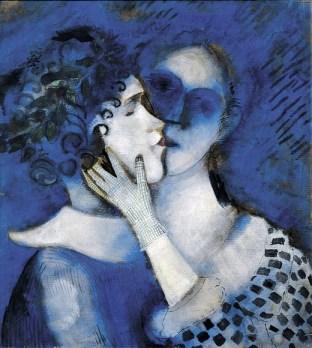 gli-amanti-in-blu-1914