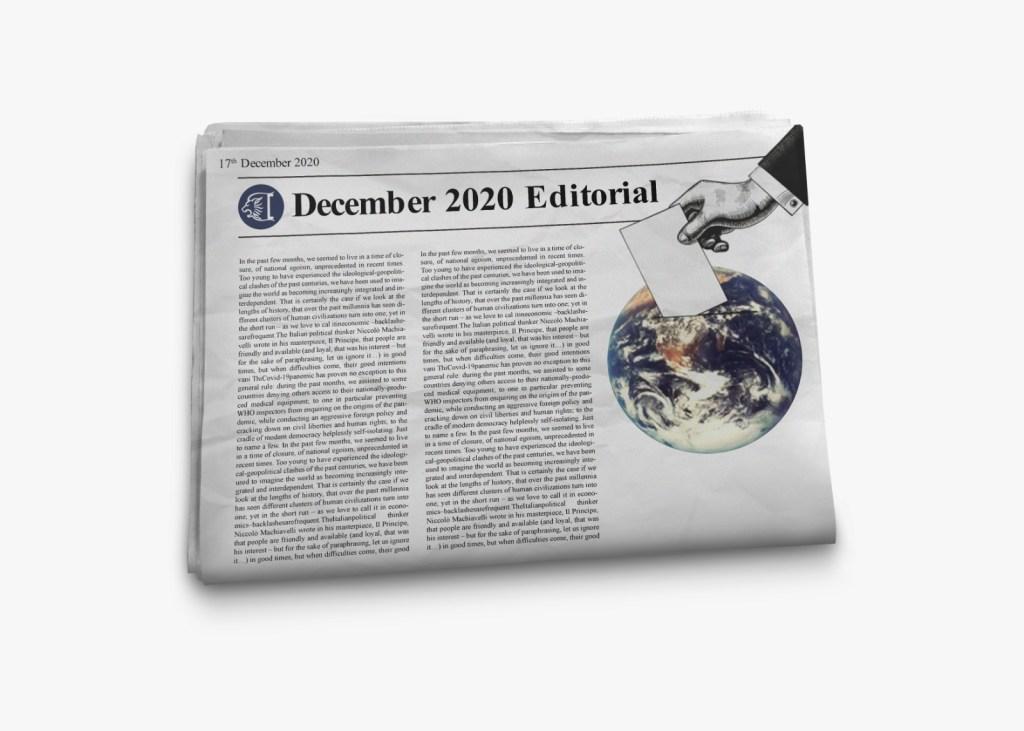 Mockup December 2020 Editorial