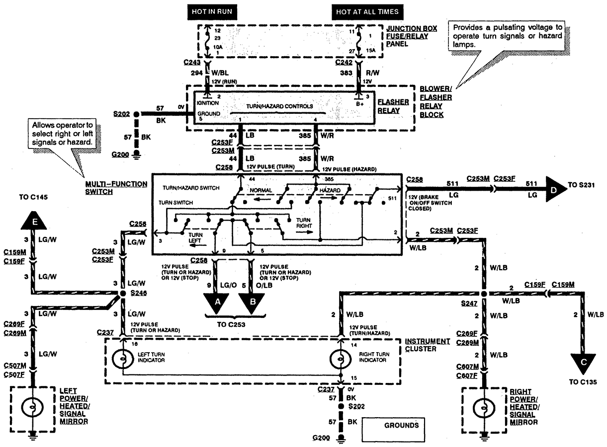 Towing Light Wiring Diagram