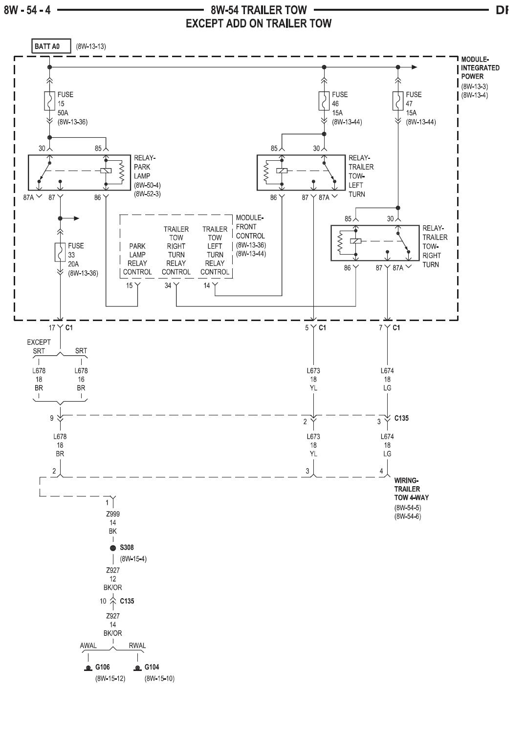 Dodge Ram Trailer Wiring Diagram