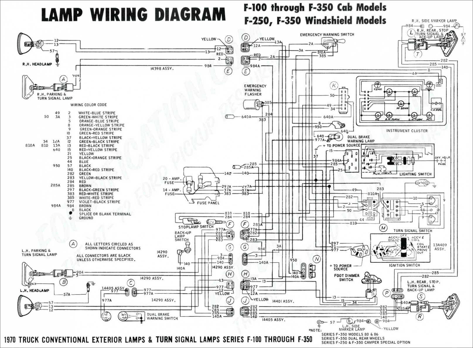 99 ford f 350 wiring schematics repair manual 1999 Ford F350 Wiring Schematics Manuals