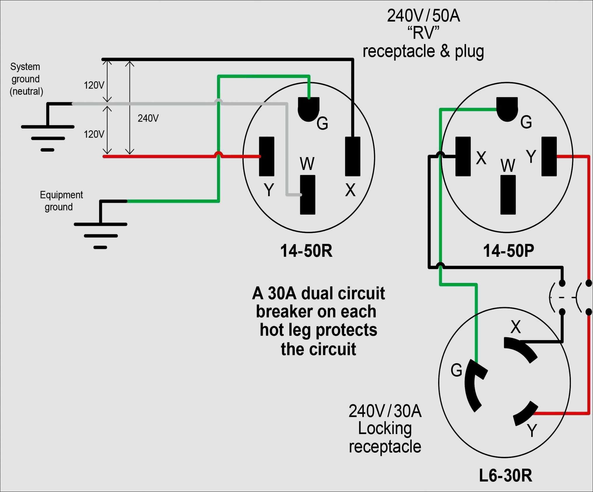 7 Pin Rv Trailer Connector Wiring Diagram