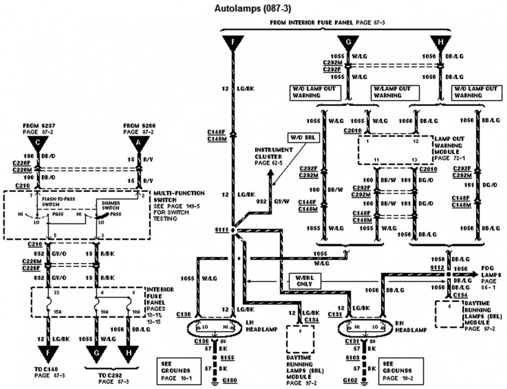 Collection Of Ford Ranger Wiring Diagram Library