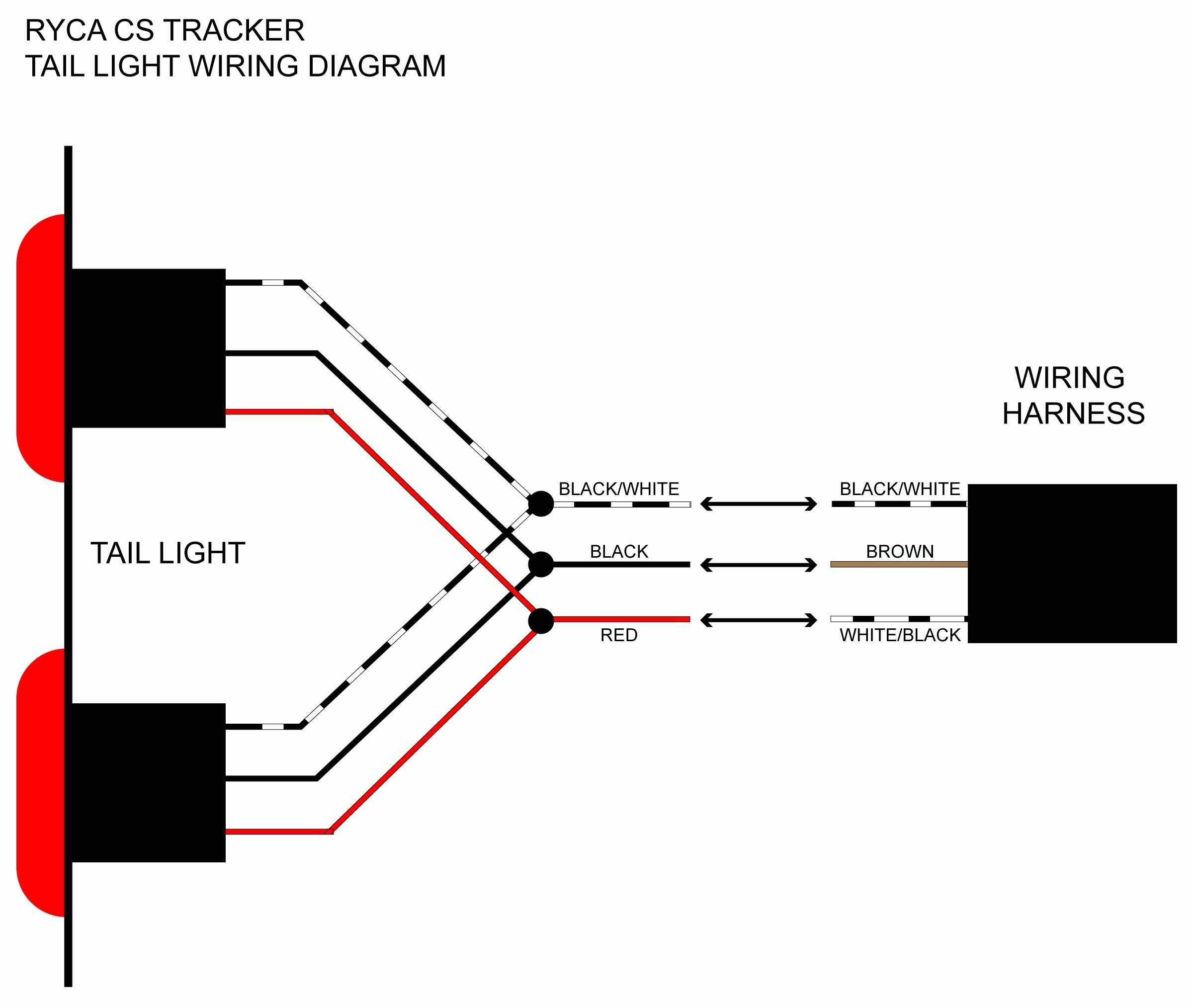 Wiring Harnes For Trailer Diagram