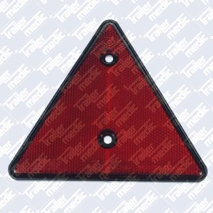 Red reflective triangle