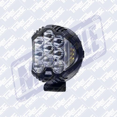 """9"""" LED Driving Light 12/24v 55W"""