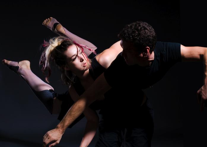 Julia Rae Antonick and Jonathan Meyer. Photo by Dan Merlot.