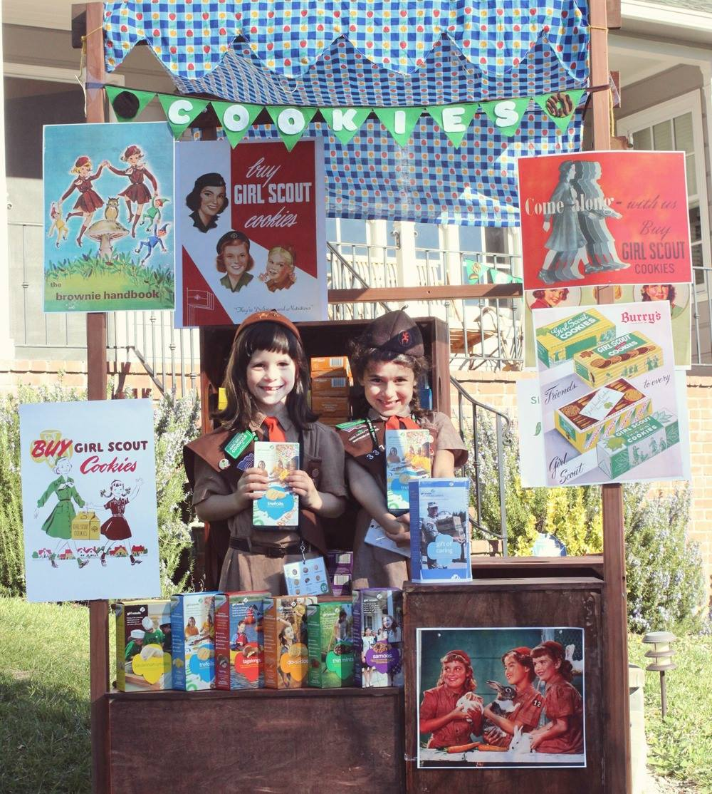 Vintage Brownie Cookie Booth