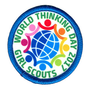 World Thinking Day 2017 Badge