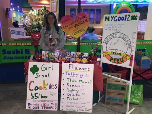 Raquel's Cookie Booth