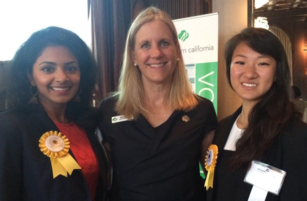 Marina and Gold Awardees