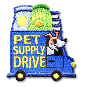 Pet Supply Drive Patch