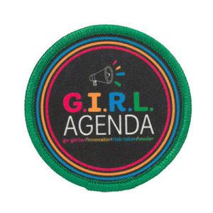 G.I.R.L. Agenda Patch