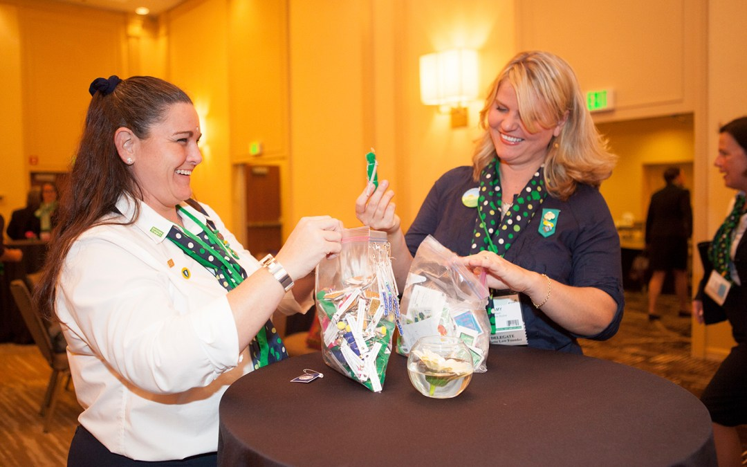 SWAPS Inspiration: Girl Scout Convention Edition