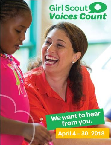 2018 Girl Scout Voices Count Survey