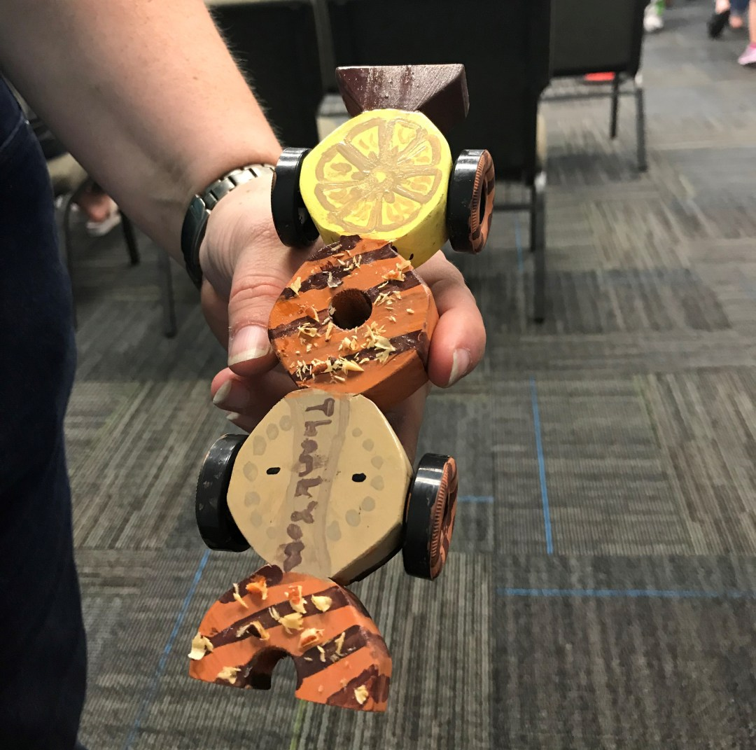 Girl Scout Cookie Derby Car