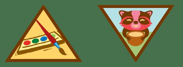 Brownie Artist Badges