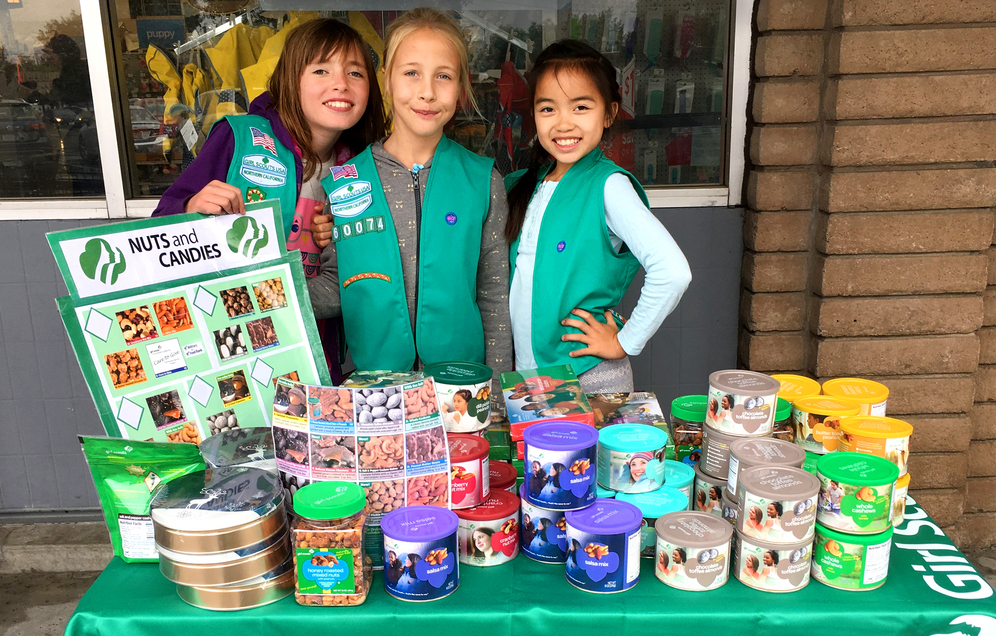 5 Skills Girls Learn By Participating in the Fall Product Program