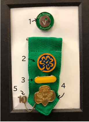 Where To Place Insignia On A Girl Scout Adult Uniform The Trailhead