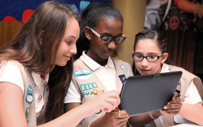 How to Transform Your Troop Meeting into a Digital Cookie Day