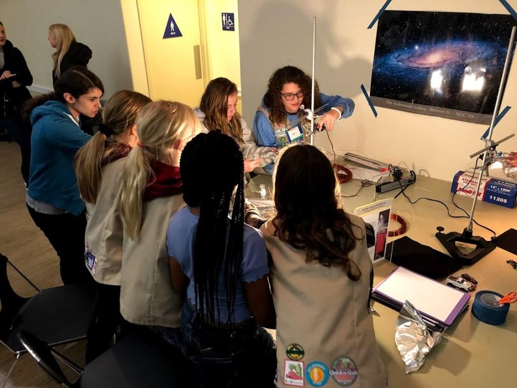 Cadette Space Science Badge Program