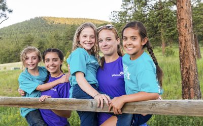 Girl Scouts Give It Their All: A Camp Leadership Story