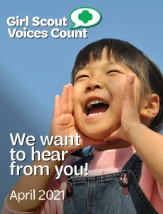 Girl Scout Voices Count Survey 2021