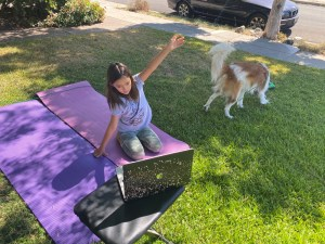 Zoom Yoga for a Girl Scout Event